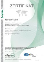 unitrans-hauptvogel-Zertifikat-ISO-9001-2015