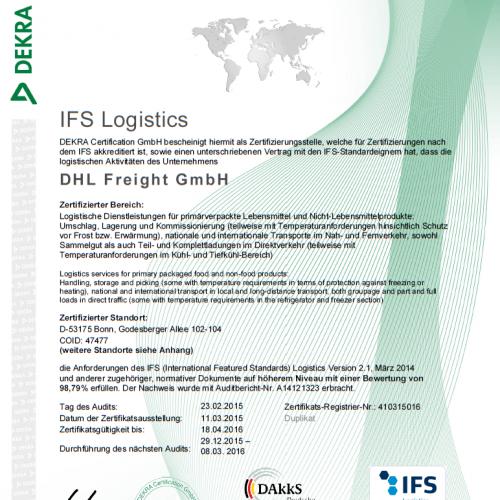IFS-logistics-Zertifikat